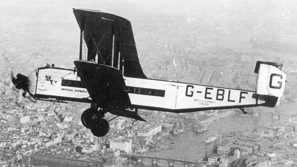 Imperial Airways Armstrong Whitworth Argosy I G-EBLF flying over London.jpg