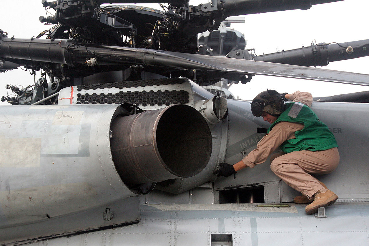 The CH-53E rotor and exhaust assembly in detail.jpg