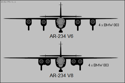 Differences between the pair of four-engined Ar 234 prototype aircraft.png