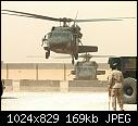 UH-60s equipped with machine guns near An Najaf, Iraq in May 2005.jpg