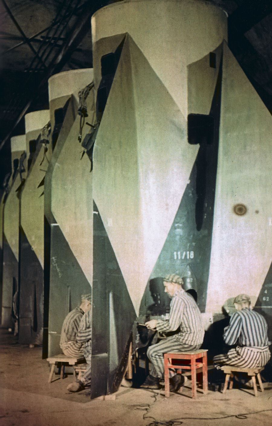 Concentration camp workers assembling V2s.jpg