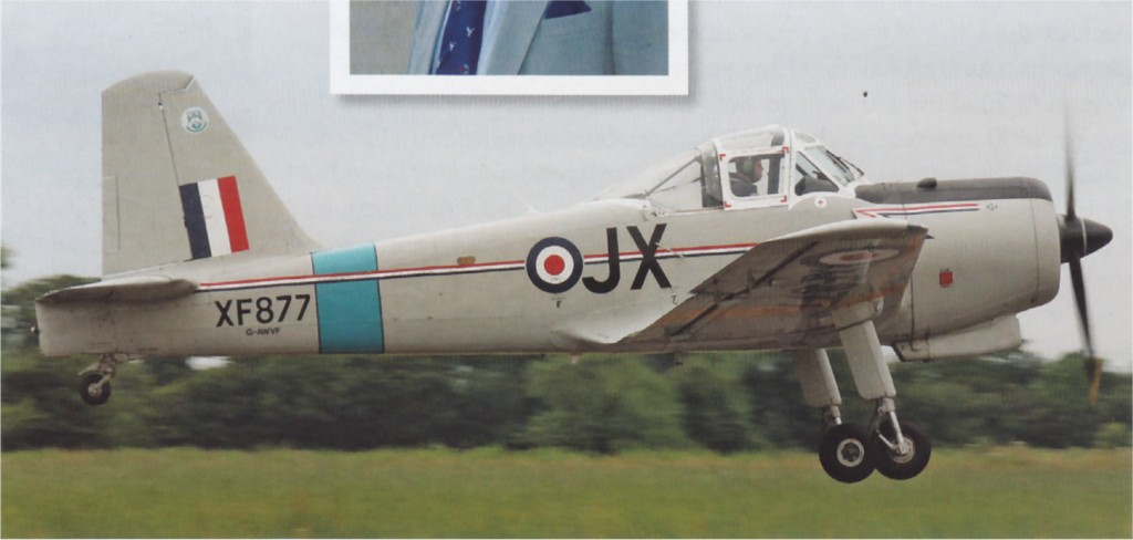 UK2 XF877 Percival ProvostT1 to G-AWIF JohnDunnellPhoto.jpg