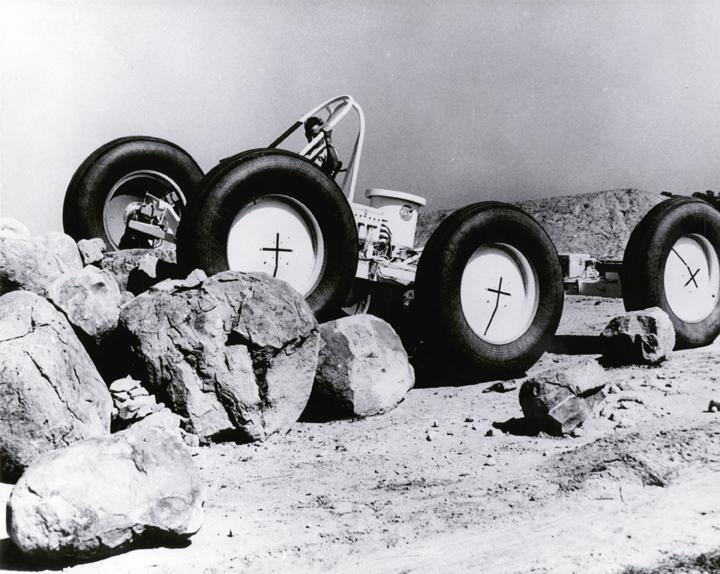 Lunar Roving Vehicle (LRV) Test Article on Rocks 6974223.jpg