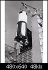 Saturn V First Stage Leaves the Dynamic Test Stand 9903035.jpg