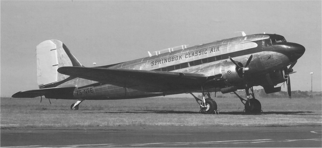 US 1942-092157 C-47A 2010-10-15 to UK FL565 Douglas DakotaMkIII to ZS-NTE Rand RonKosysPhoto.jpg