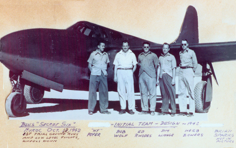The initial XP-59A Airacomet design team..jpg
