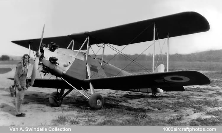 No. 11041. Avro 616 Avian Mk.IVM Royal Canadian Air Force.jpg